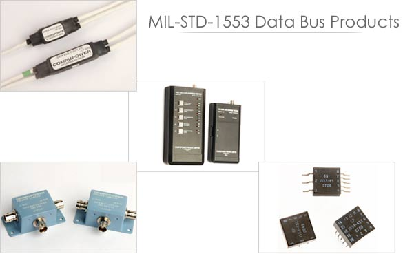 MIL-STD-1553 Data Bus products